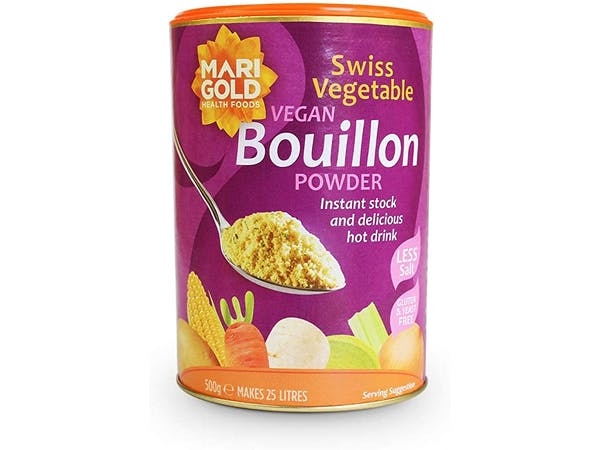 Swiss Vegetable Bouillon - Reduced Salt & Vegan