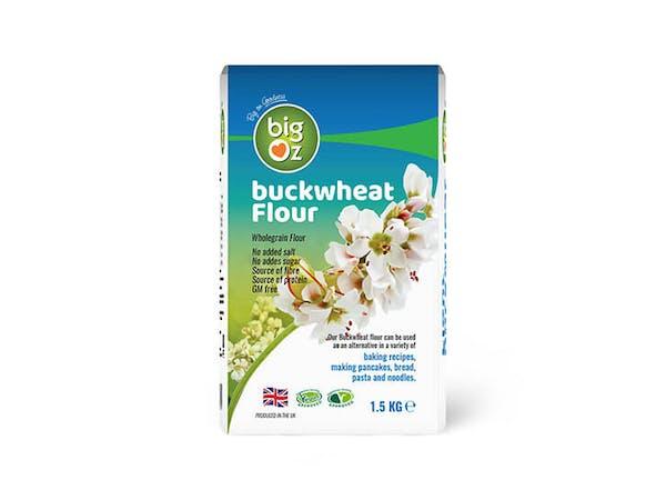 Organic Gluten Free Buckwheat Flour