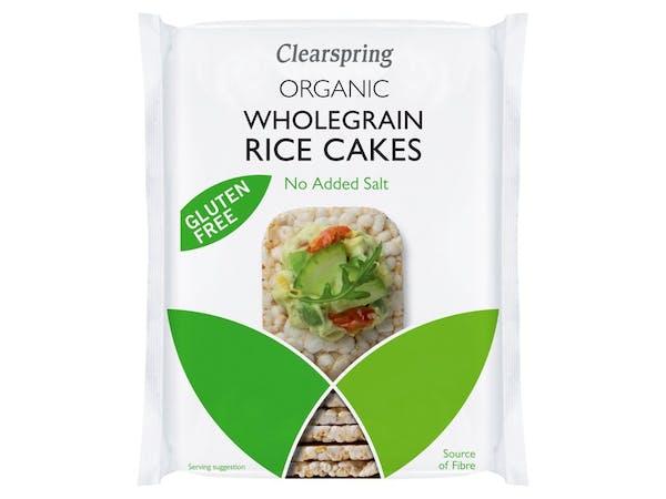 Organic No Added Salt Brown Rice Cakes