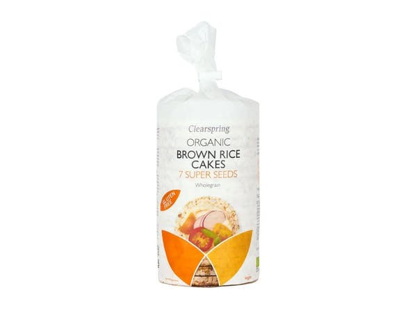 Organic 7 Super Seed Brown Rice Cakes