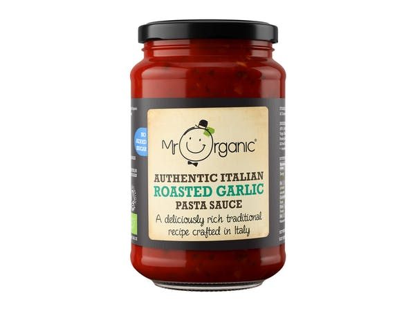 No Added Sugar Roast Garlic Pasta Sauce