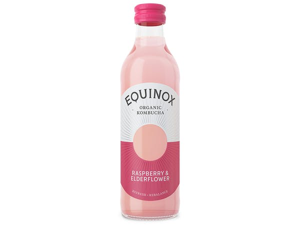 Organic Raspberry & Elderflower Soft Drink
