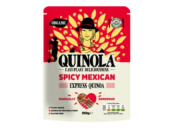 Organic Express Quinoa - Spicy Mexican