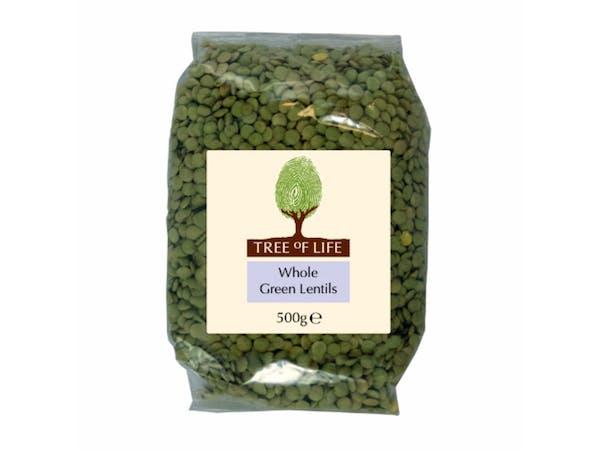 Whole Green Lentils