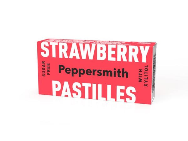 Strawberry Xylitol Pastilles
