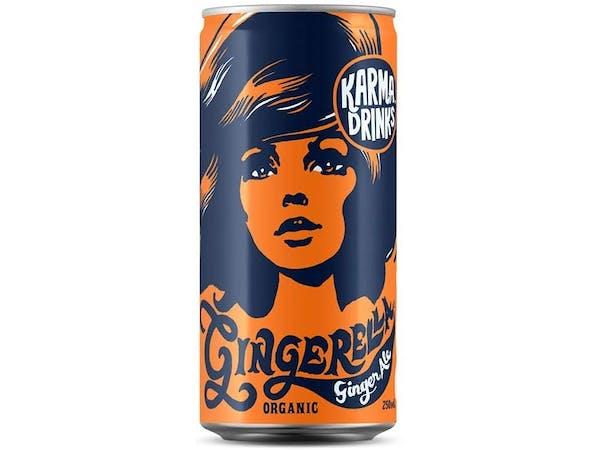 Fairtrade Organic Gingerella Ginger Ale