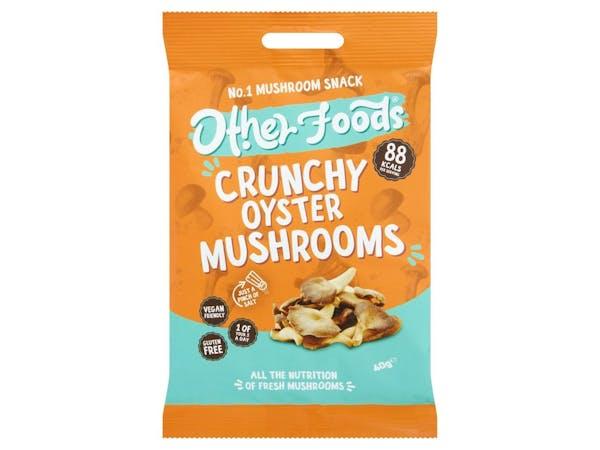 Crunchy Oyster Mushroom Chips