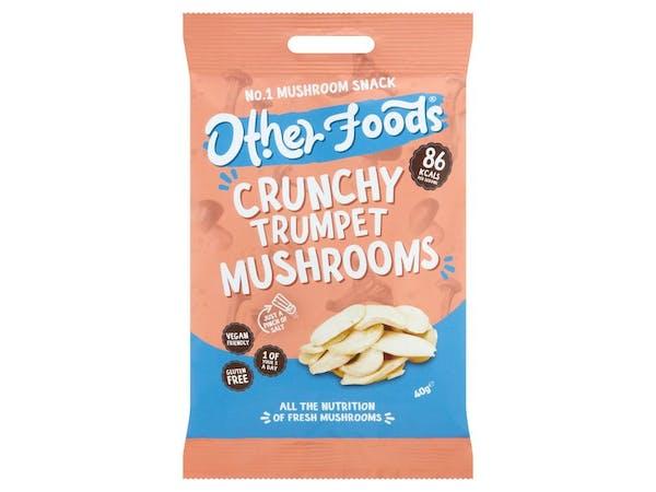 Crunchy Trumpet Mushroom Chips