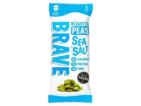 Sea Salt Roasted Peas