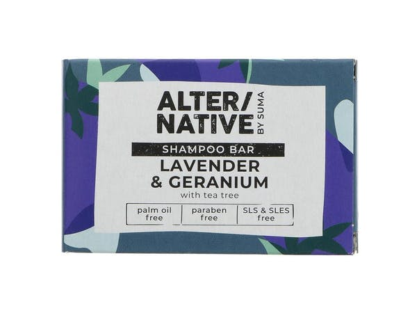 Lavender Geranium & Tea Tree Shampoo Bar
