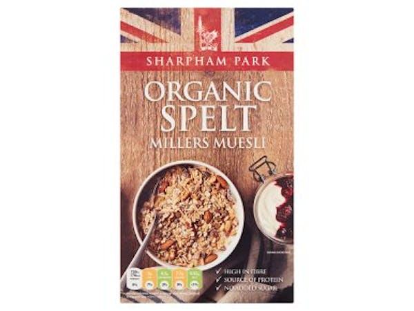 Organic Spelt Millers Muesli