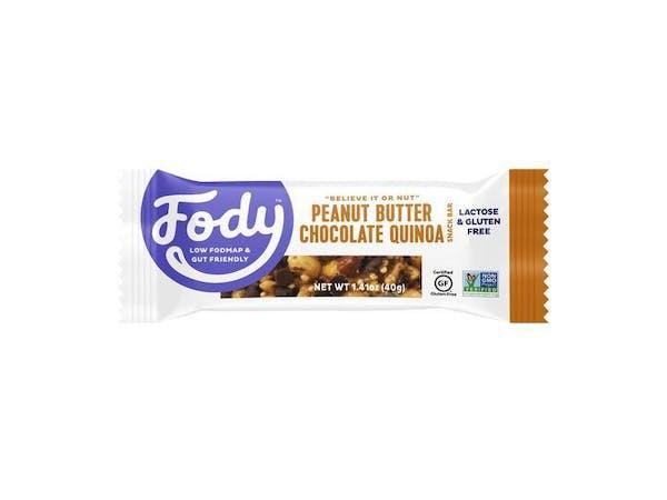 Peanut Butter Chocolate & Quinoa Bar