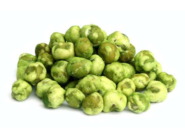 Spicy Wasabi Peas