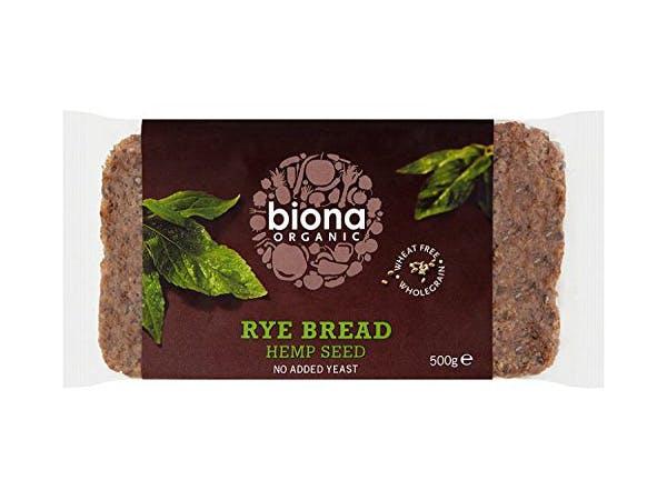 Biona  Rye & Hempseed Bread
