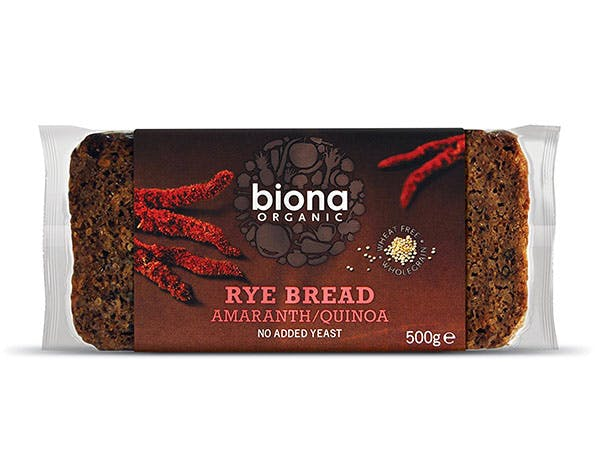 Biona  Rye Amaranth & Quinoa Bread
