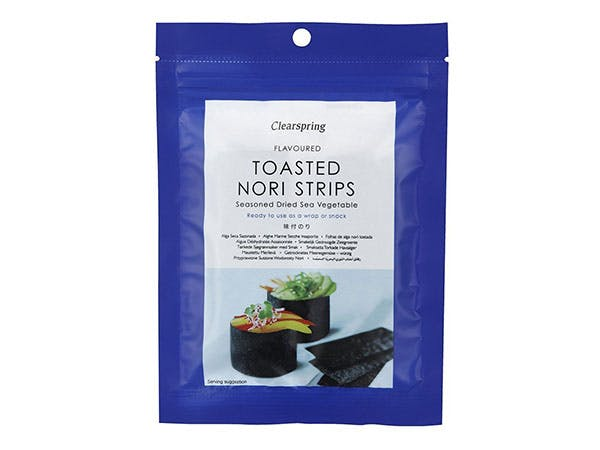 Clearspring  Nori Strips - Toasted