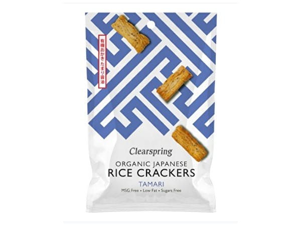 Japanese Tamari Rice Crackers - Organic