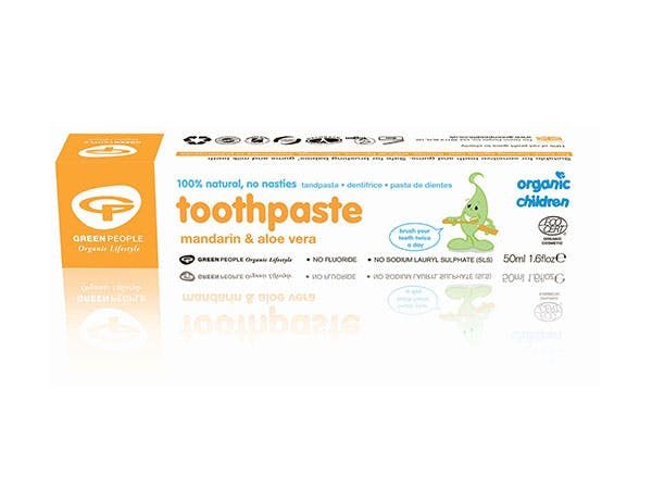 Green People  Childs Mandarin Toothpaste