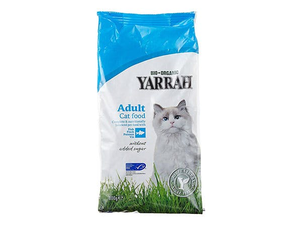 Yarrah  Adult Cat Food With - Fish