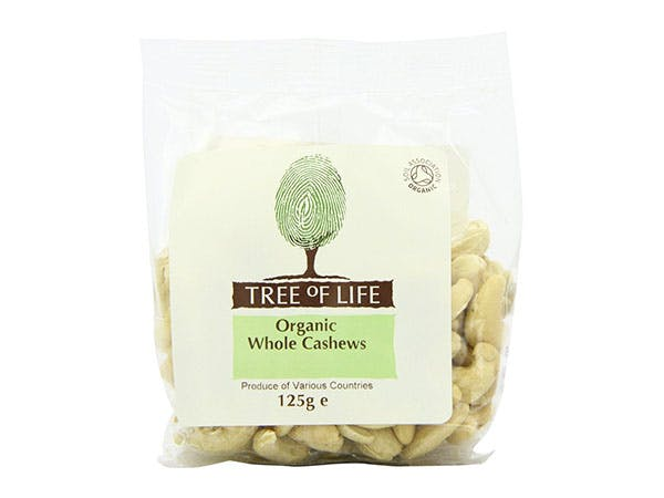 Tree Of Life  Organic Cashew Nuts - Whole