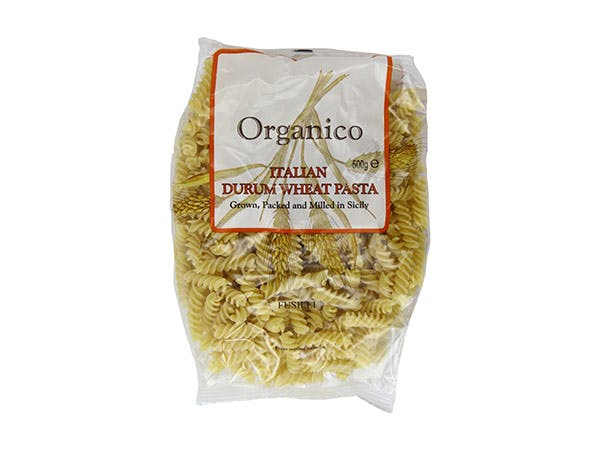 Organico  White Fusilli Spirals