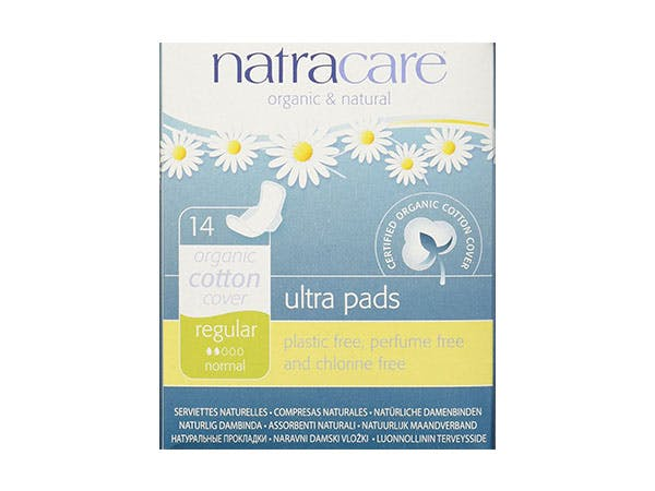 Natracare  Natural Ultra Pads Regular With Wings