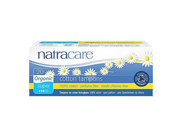 Natracare  Tampons Super - Organic