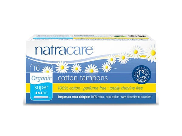 Natracare  Tampons (Applicator) Regular - Organic