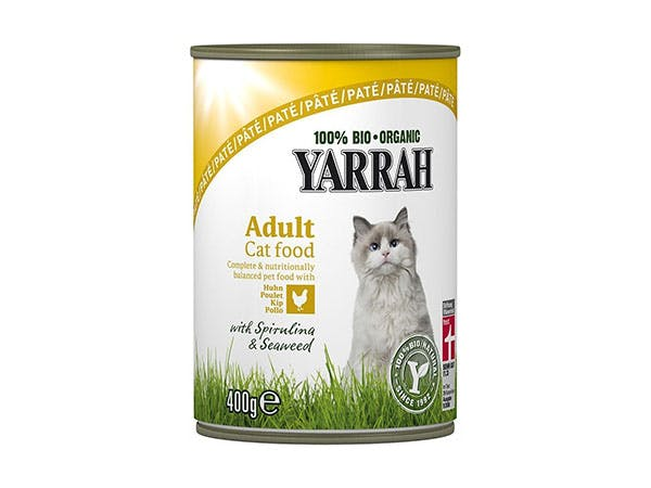 Yarrah  Cat Food - Spirulina & Seaweed Chicken Pate