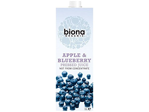 Biona  Apple & Blueberry Juice
