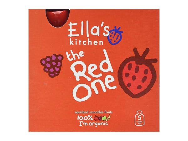 Ellas Kitchen  The Red One Fruit Smoothie - Multipack