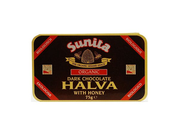 Sunita  Halva With Dark Chocolate - Organic