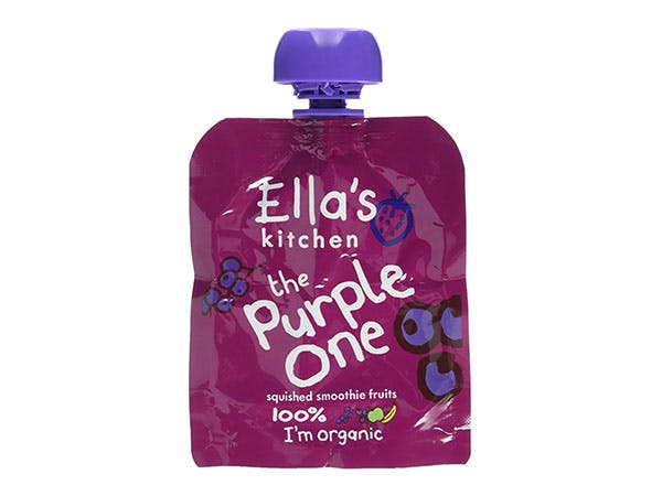 Ellas Kitchen  The Purple One Fruit Smoothie - Multipack