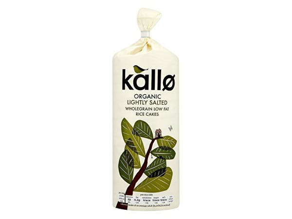 Kallo  Lightly Salted Rice Cakes - Organic