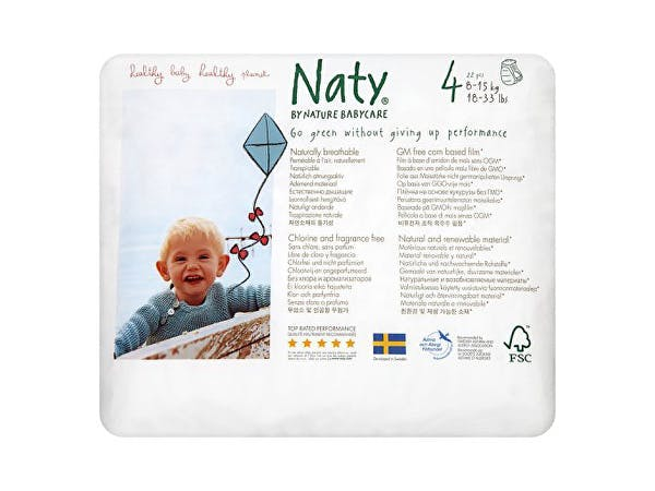 Nature Baby  Nappy Pants - Maxi Size 4 (18-33lbs)