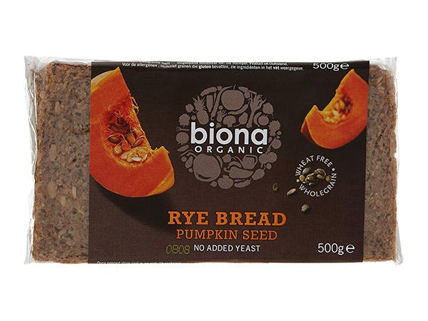 Biona  Rye Pumpkinseed Bread