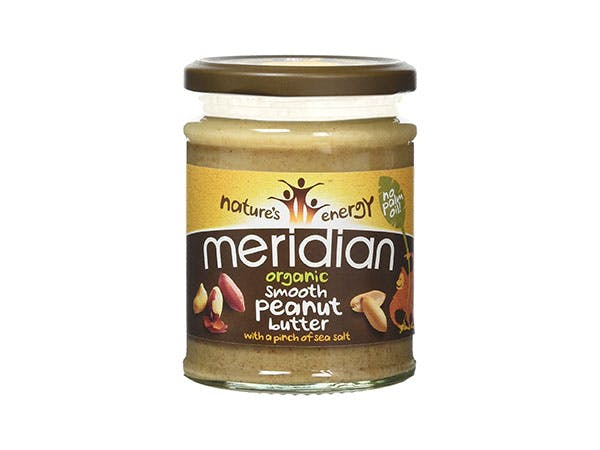 Meridian  Organic Peanut Butter - Smooth (Pinch Of Salt)