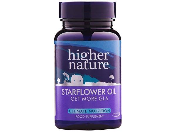 Higher Nature  Starflower Oil Capsules