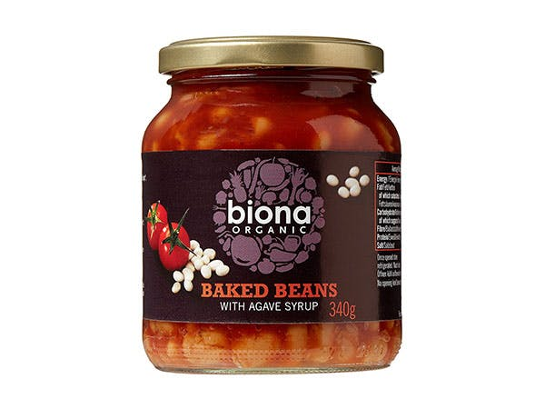 Biona  Baked Beans In Tomato Sauce - Jar