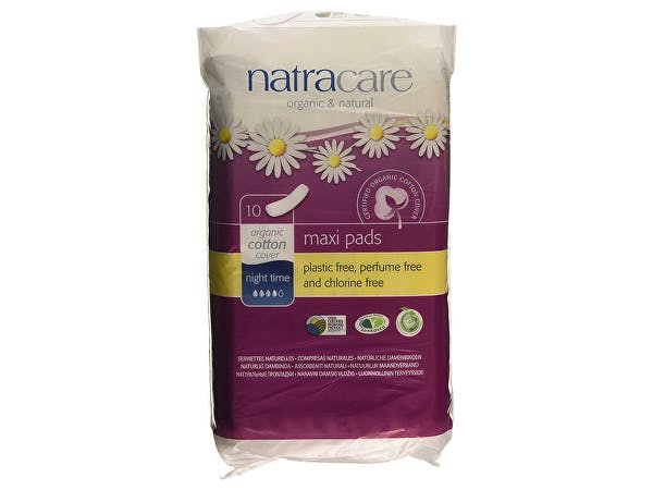 Natracare  Natural Pads Night Time