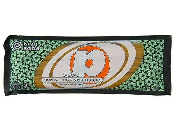 King Soba  Rice Pumpkin & Ginger Noodles