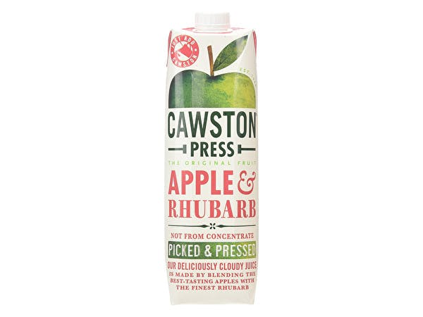 Cawston  Apple & Rhubarb Juice - Pressed