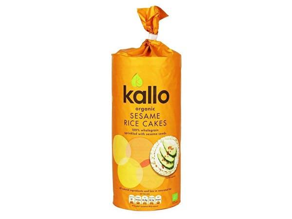 Kallo  Sesame Rice Cakes - Organic