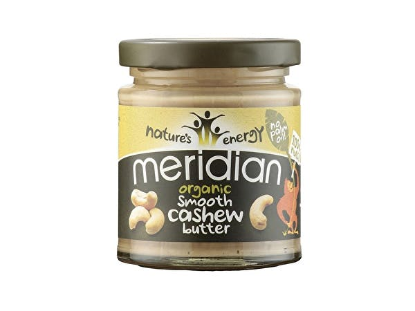 Meridian  Organic Cashew Butter - Smooth 100% Nuts
