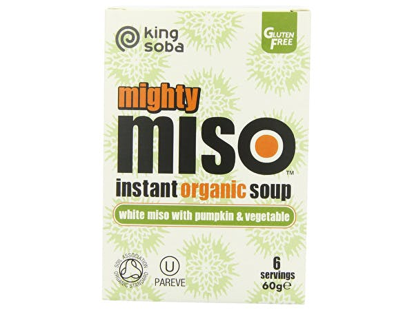 King Soba  Mighty Miso Pumpkin & Vegetable Instant Soup