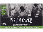 Fish 4 Ever  White Tuna Fish In Organic Olive Oil