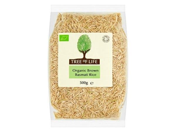 Organic Rice - Brown Basmati