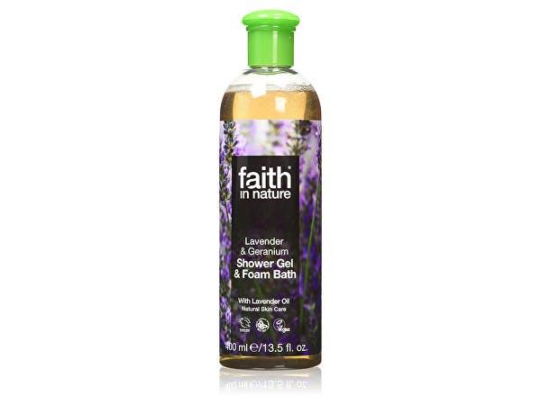 Faith  Lavender & Geranium Foam Bath