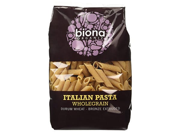 Biona  Wholegrain Penne - Bronze Extruded