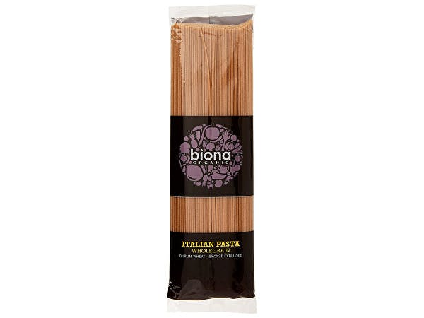 Biona  Wholewheat Spaghetti - Bronze Extruded